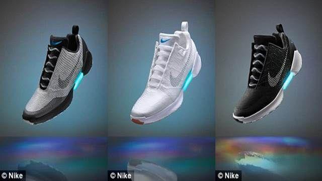 夢想成真!Nike首款自動綁帶鞋 年底人人買得到