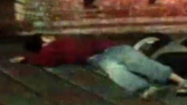 酒駕女自摔破頭 躺路邊睡到打呼