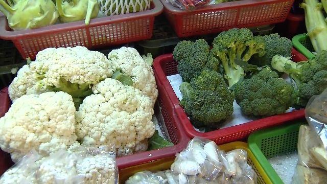 史上最貴!花椰菜1斤1百 高麗菜一顆破百