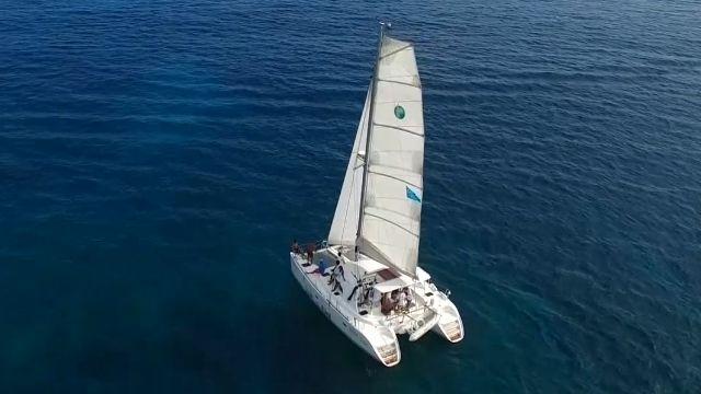 連假哪玩? 墾丁新玩法 帆船海釣學開船