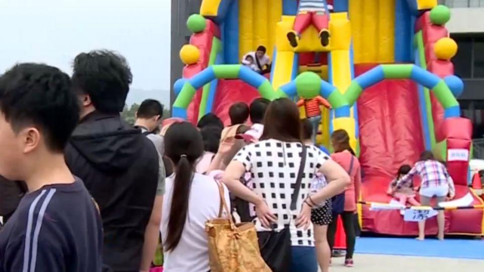 兒童節親子遊! 竹縣20組大型氣墊免費玩