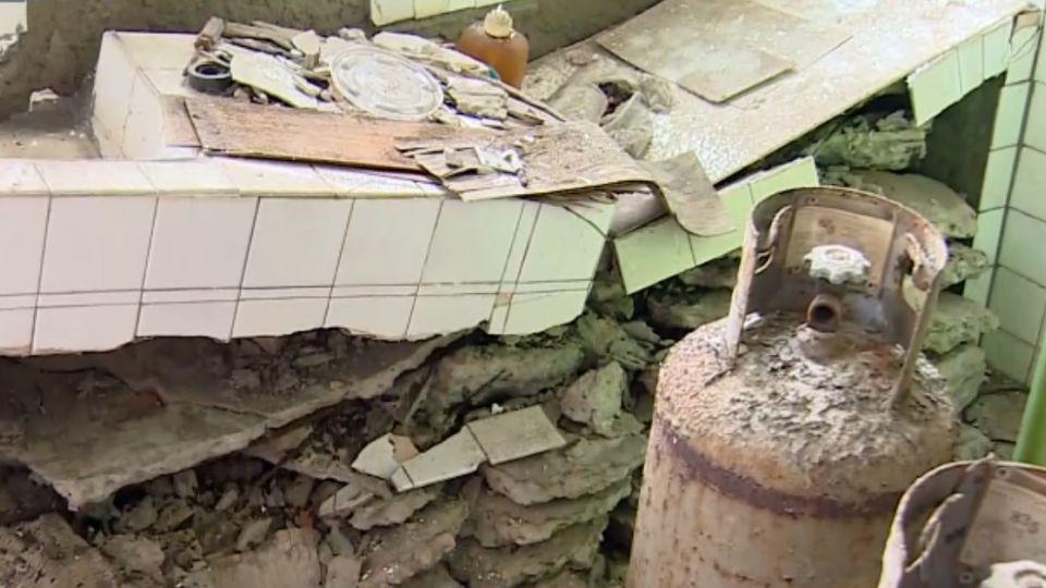 鋼筋裸露! 危住海砂屋 崩壞17年未改建