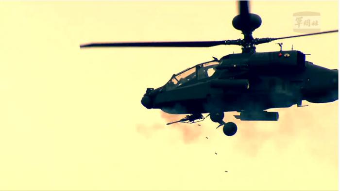【影片】阿帕契好威!國防部首公開射擊影片