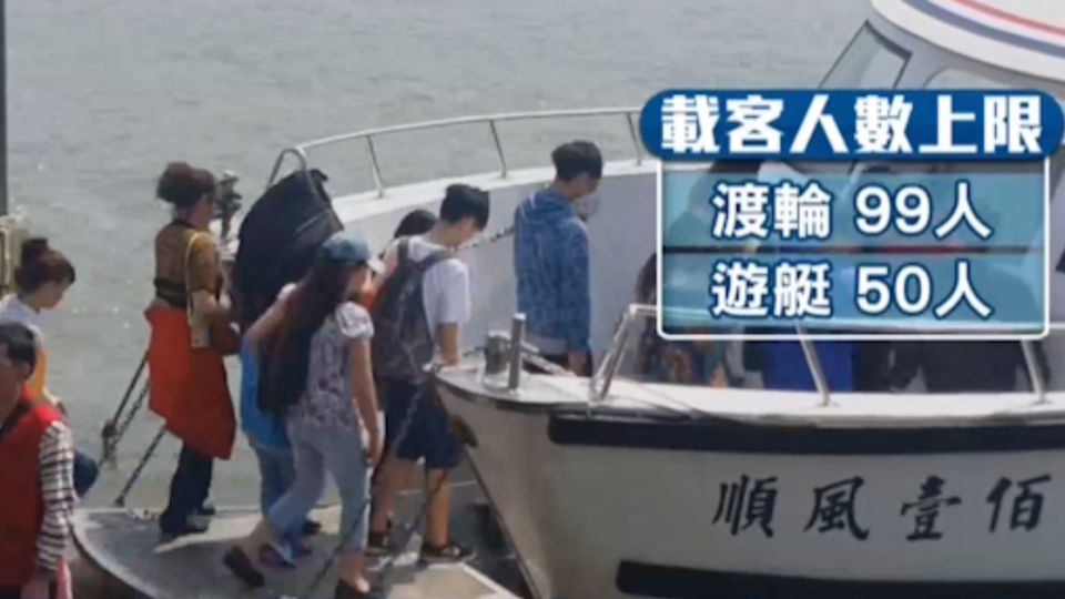 危險藍色公路 業者:船很穩 不用穿救生衣!