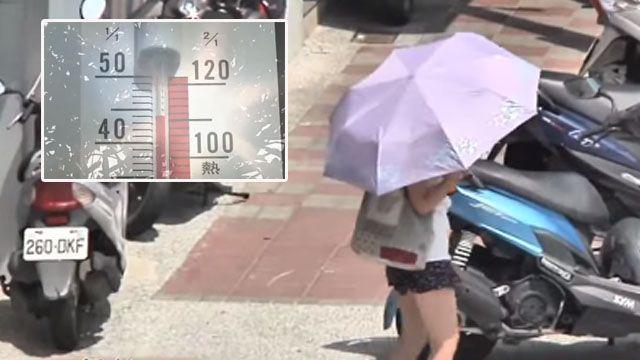 破今年最高溫!台北中午氣溫飆32.9度