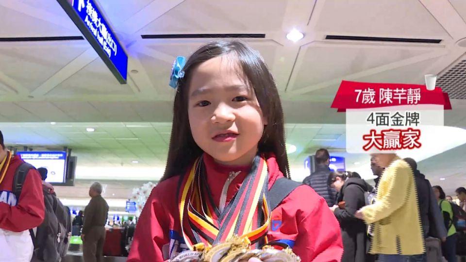 捷報! 世界競技疊杯賽 台灣猛奪11金11銀