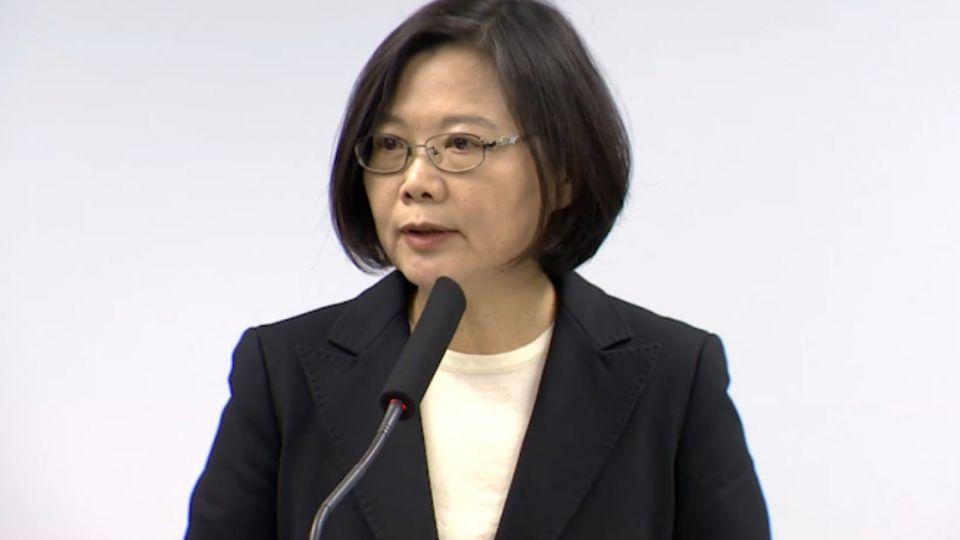 浩鼎事件首度發言 蔡英文:翁啟惠重傷中研院