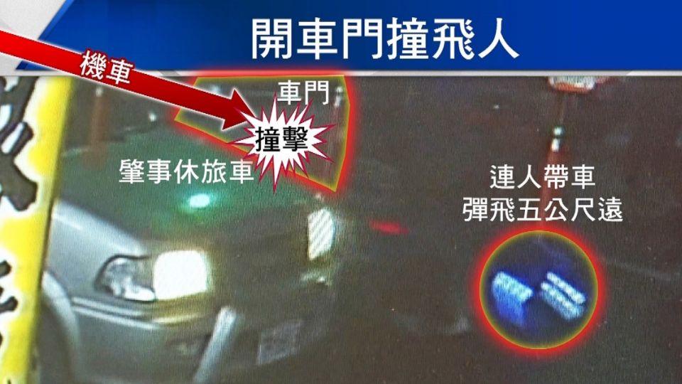「左手」突開車門害撞飛亡 判刑6個月賠460萬