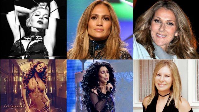 【有影片】2016年全球最有錢的女歌手排行榜
