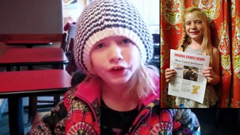 【影片】立志當記者!9歲女童獨家兇殺案 網友卻噓爆