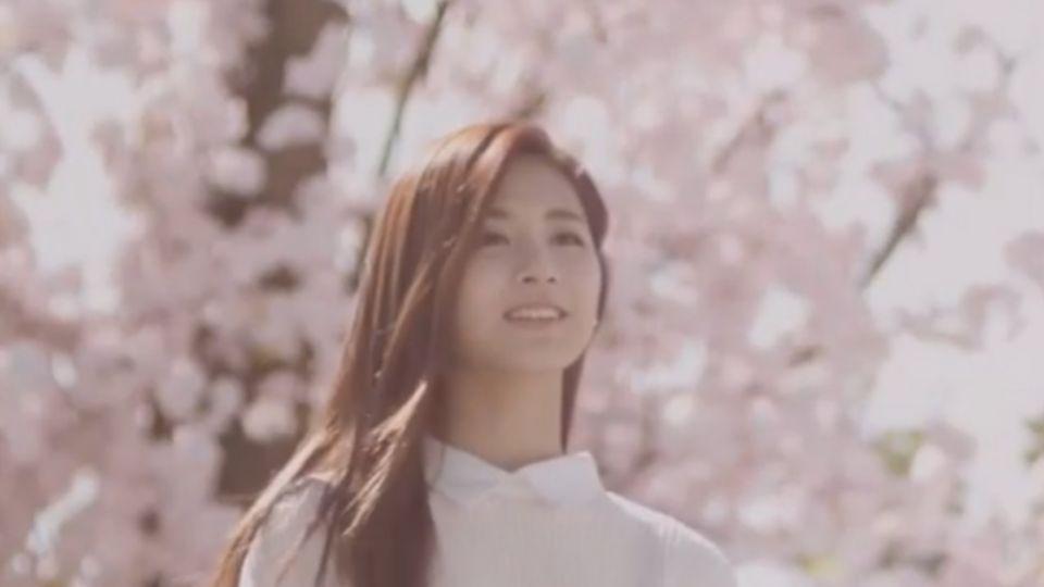「學長 我喜歡你」 周子瑜新廣告 櫻花樹下告白