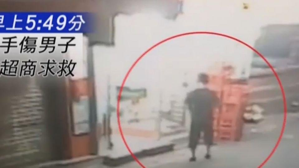 東區「搶劫砍人」?男鮮血直流求救超商 警:友劃傷