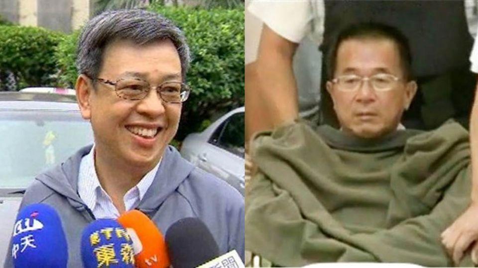準副總統陳建仁 今下午2點探視陳水扁