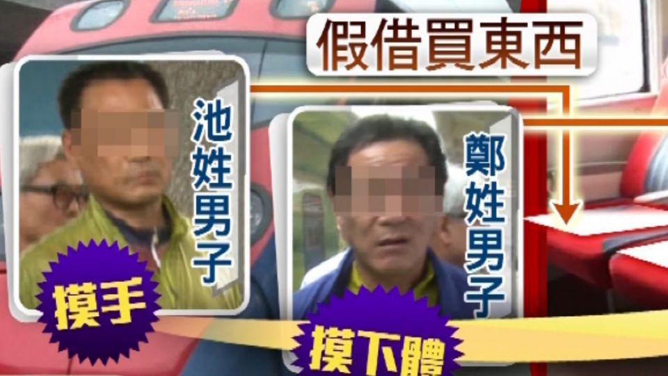 兩韓籍旅客搭火車對服務員性騷 遭限制出境