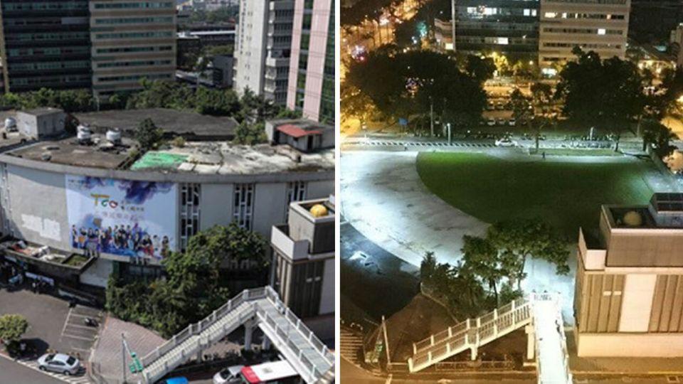 改造台北街頭「百億鬼屋」今晚迷人亮相