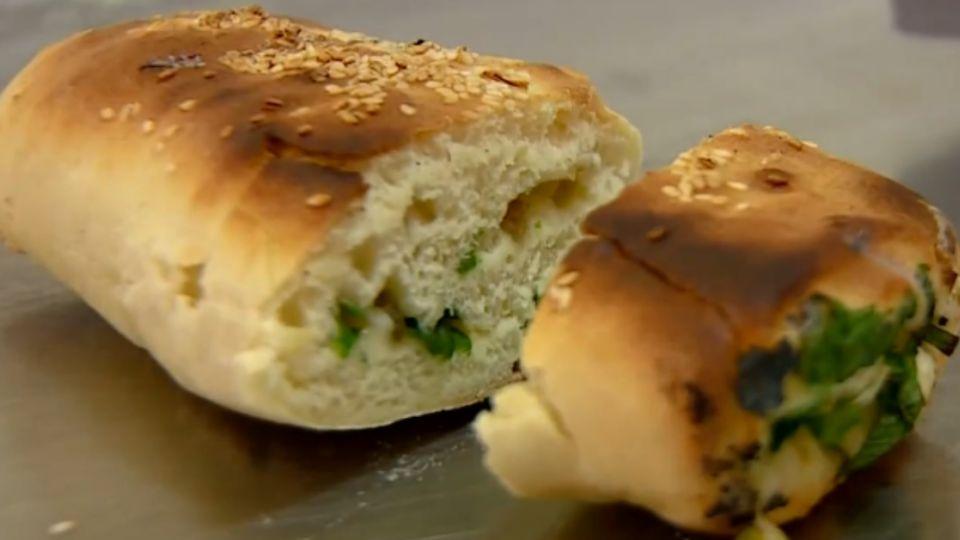 炭火燒餅一甲子 來自上海的古早味