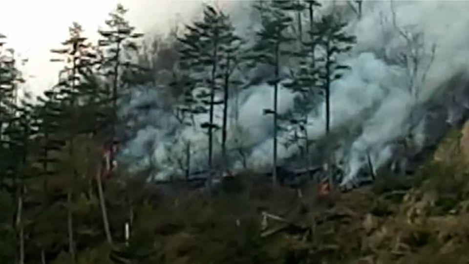 十萬「火」急!火燒山直逼武陵 恐竄宜蘭