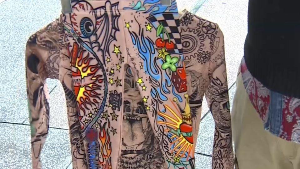 名牌刺青袖套違法賣!華裔設計師跨海告台購物網