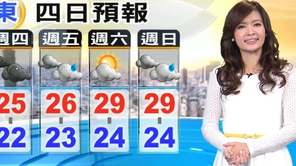 【2016/04/14】最新!對流雲系移入 中彰沿海將下雷雨