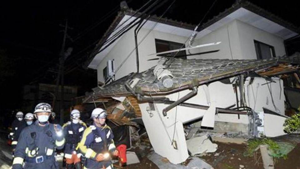 熊本9死千人傷  日史上第四大強震