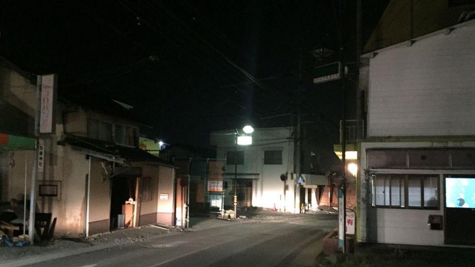 熊本重災區 尚有逾7000人待避難中心
