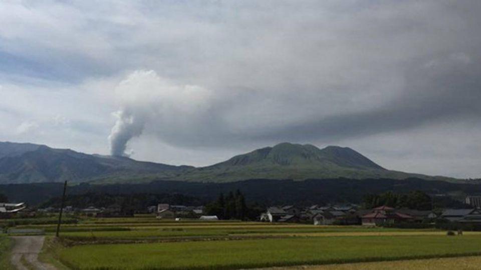 日熊本強震!阿蘇火山噴發 水壩恐潰決