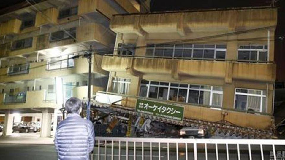 日熊本強震 台旅客1心臟病送醫1輕傷