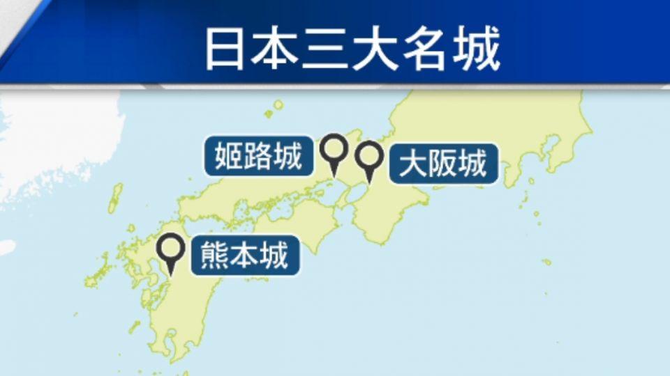 日人最愛古城 「熊本城」連續三年獲首選