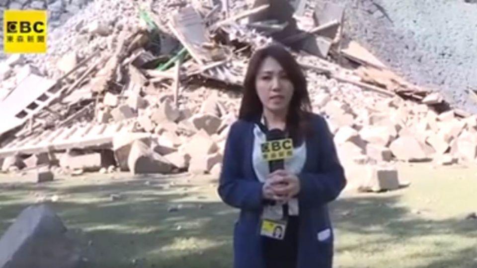 7.3強震才是主震 熊本城圍牆坍方嚴重