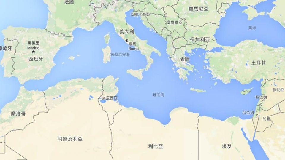 地中海驚傳難民船翻覆!恐有400人罹難