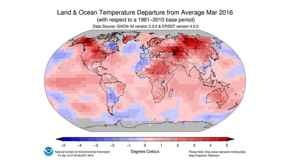 3月地球紅通通! 鄭明典:持續高溫擋不住