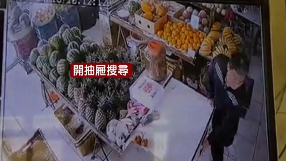 水果攤老闆娘上廁所 竊賊「三翻抽屜」偷金飾現金