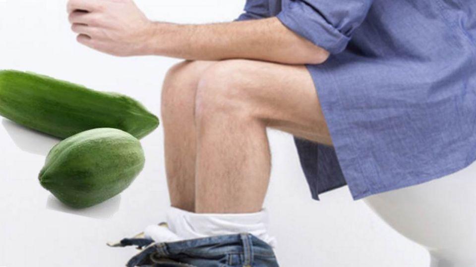 拉到出血!「菊花處」竟取出23公分青木瓜