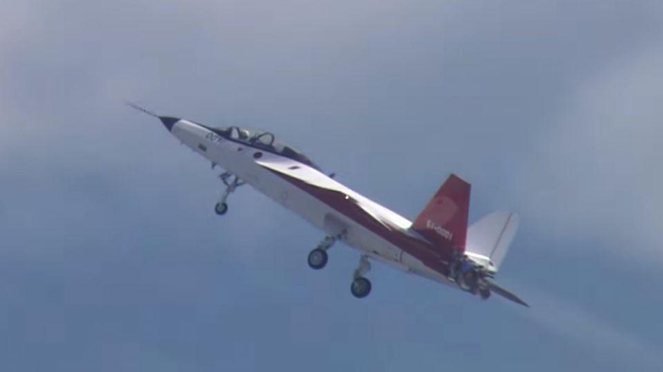 【影片】日產首款隱形戰機X-2 名古屋試飛成功