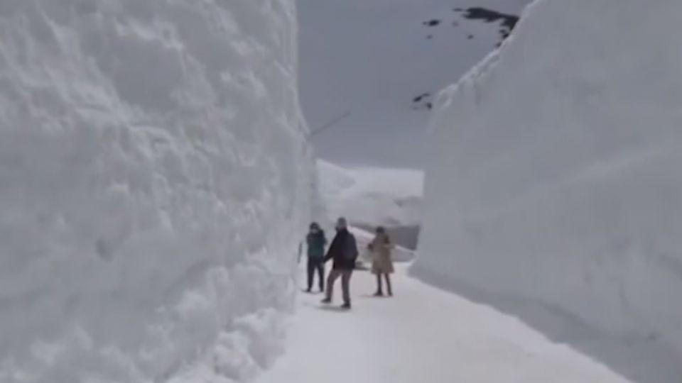 台客訪「立山雪壁」塗鴉挨批丟臉 誤會大了...