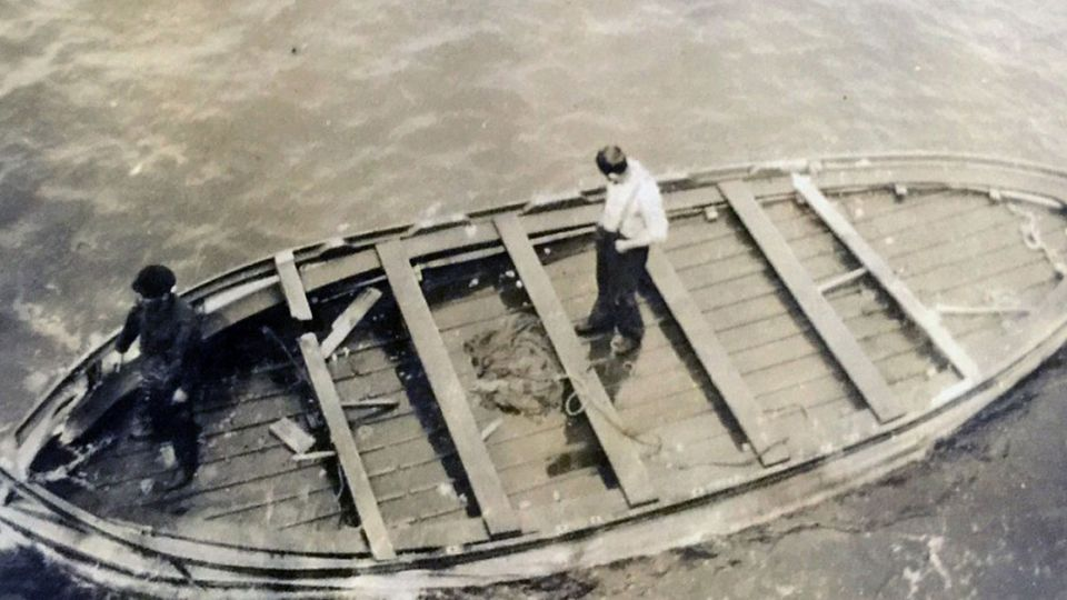 104年前最後的救生艇 《鐵達尼號》珍貴照曝光