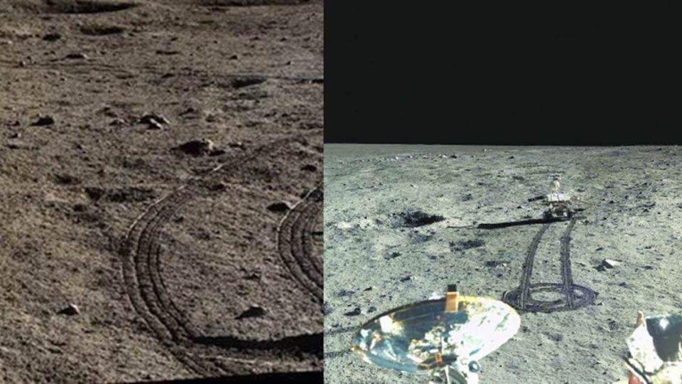 來自嫦娥的自拍!時隔40年超高清HD月球照片曝光