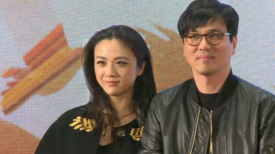 湯唯偕同韓國丈夫 北京宣傳新電影
