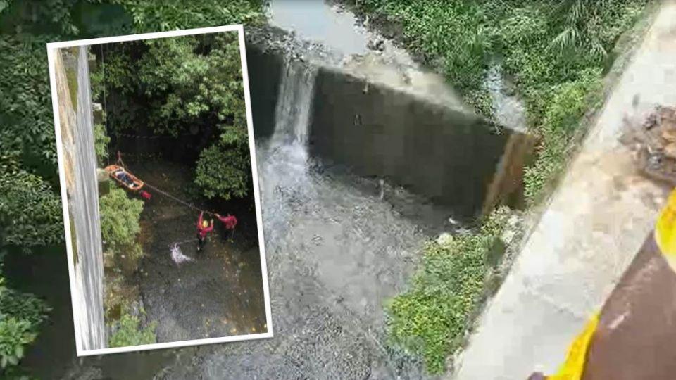 【影音】疑護攔生鏽害斷魂 遊客墜15公尺深谷喪命