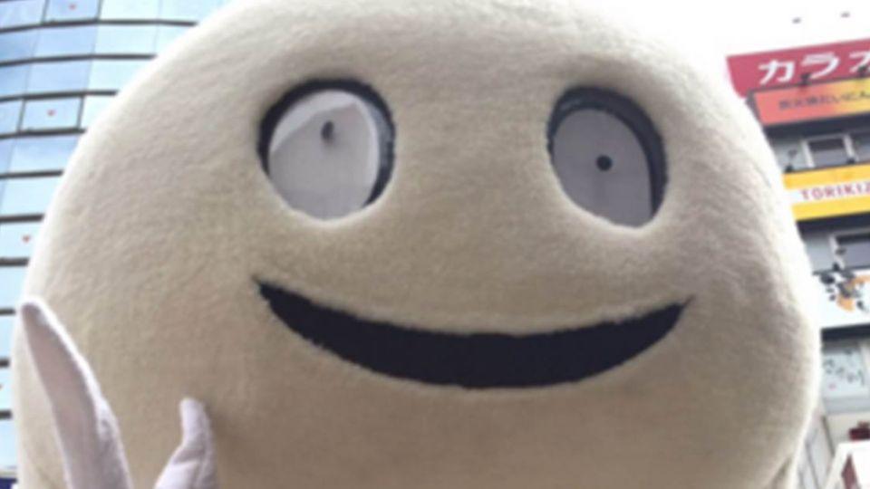 日本史上最恐怖吉祥物!日網友:像詭異蟑螂蛋