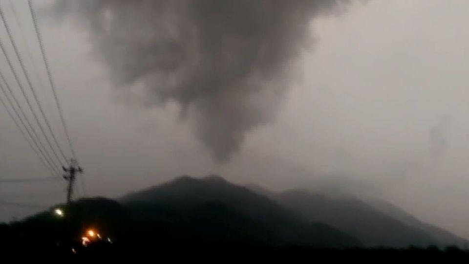 台東現「漏斗狀雲霧」 民誤以為驚見「龍捲風」