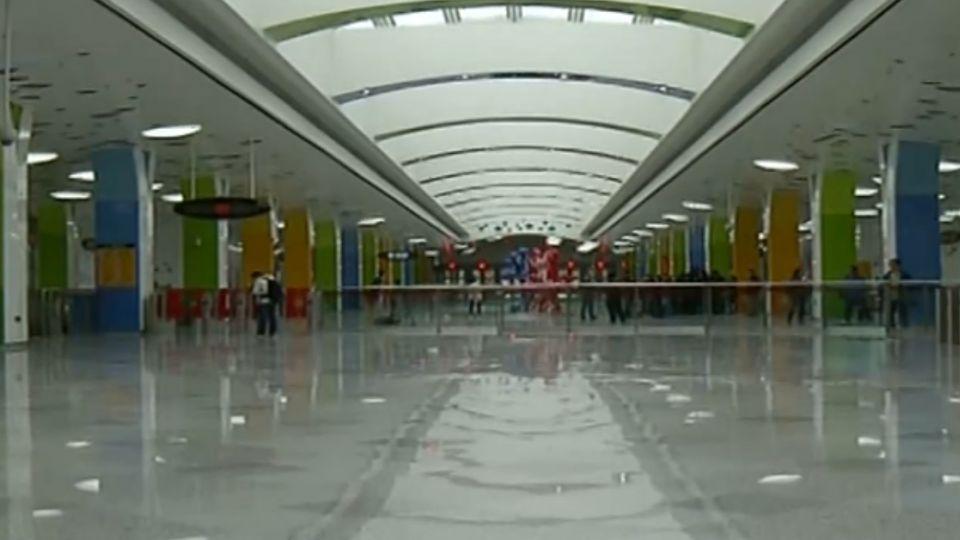 上海迪士尼地鐵站首次曝光 可容納1萬9千人