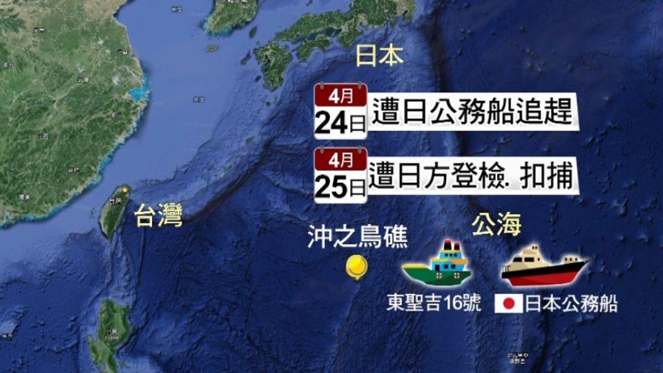 東聖吉16號遭日扣押 船東先匯170萬保人船