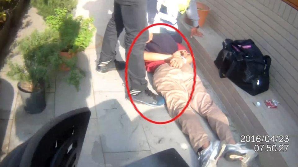 開2槍仍被跑掉的通緝犯 員警「登」到了