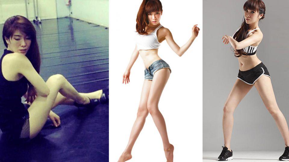 Kimiko傳授:只要8下瘦腿操