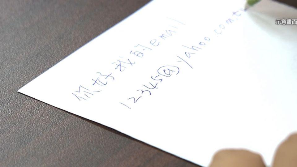 搭訕紙條「有著作權原創性」 女PO網判賠1.1萬