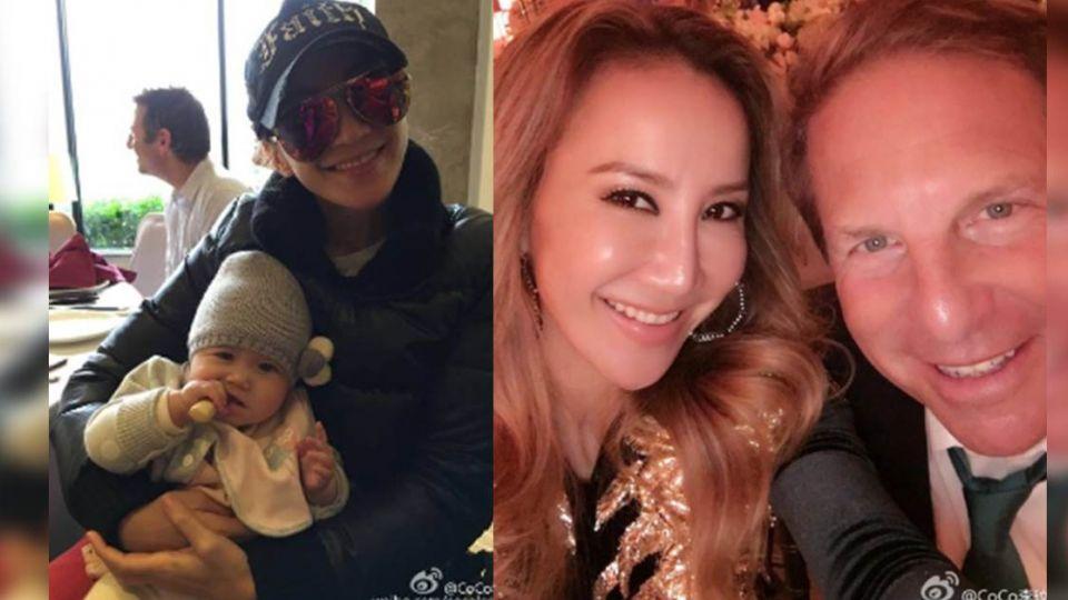 41歲李玟微博曬娃照 網友驚:這是在報喜?