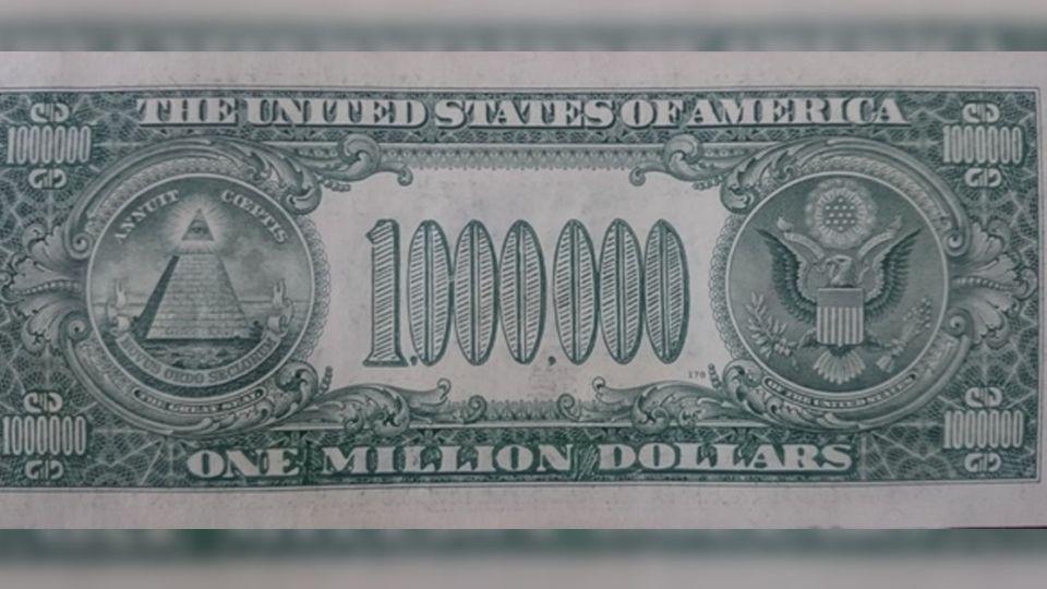 專家都驚呆!1元美鈔變百萬 驗鈔機也難分真假