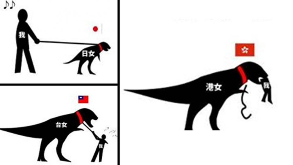 誰最強勢?「恐龍指標」神解台、日、港女生不同