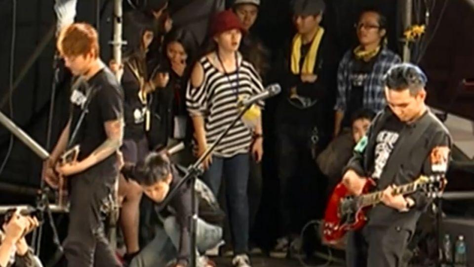 學運樂團「滅火器」 520站上就職舞台演唱